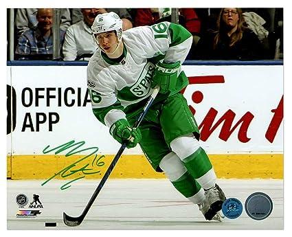 the latest b8da4 bdbb1 Mitch Marner Toronto Maple Leafs Autographed Signature St ...