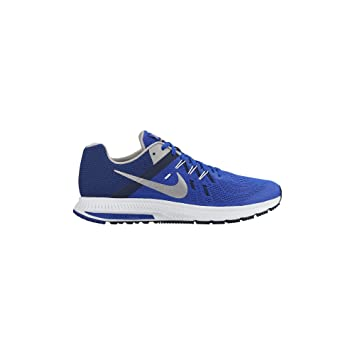 Mens Nike Air Zoom Winflo 5 Navy White Running Shoes On Sale