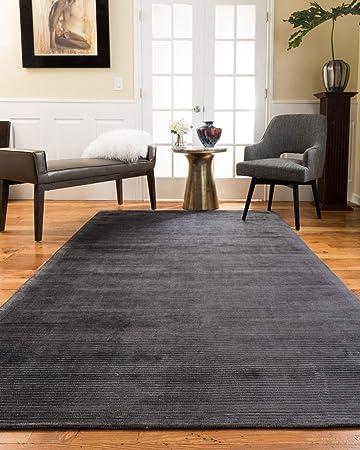 Hand Woven Recyclable 100/% Viscose Durable Harrison Non Slip Area Rug Carpet