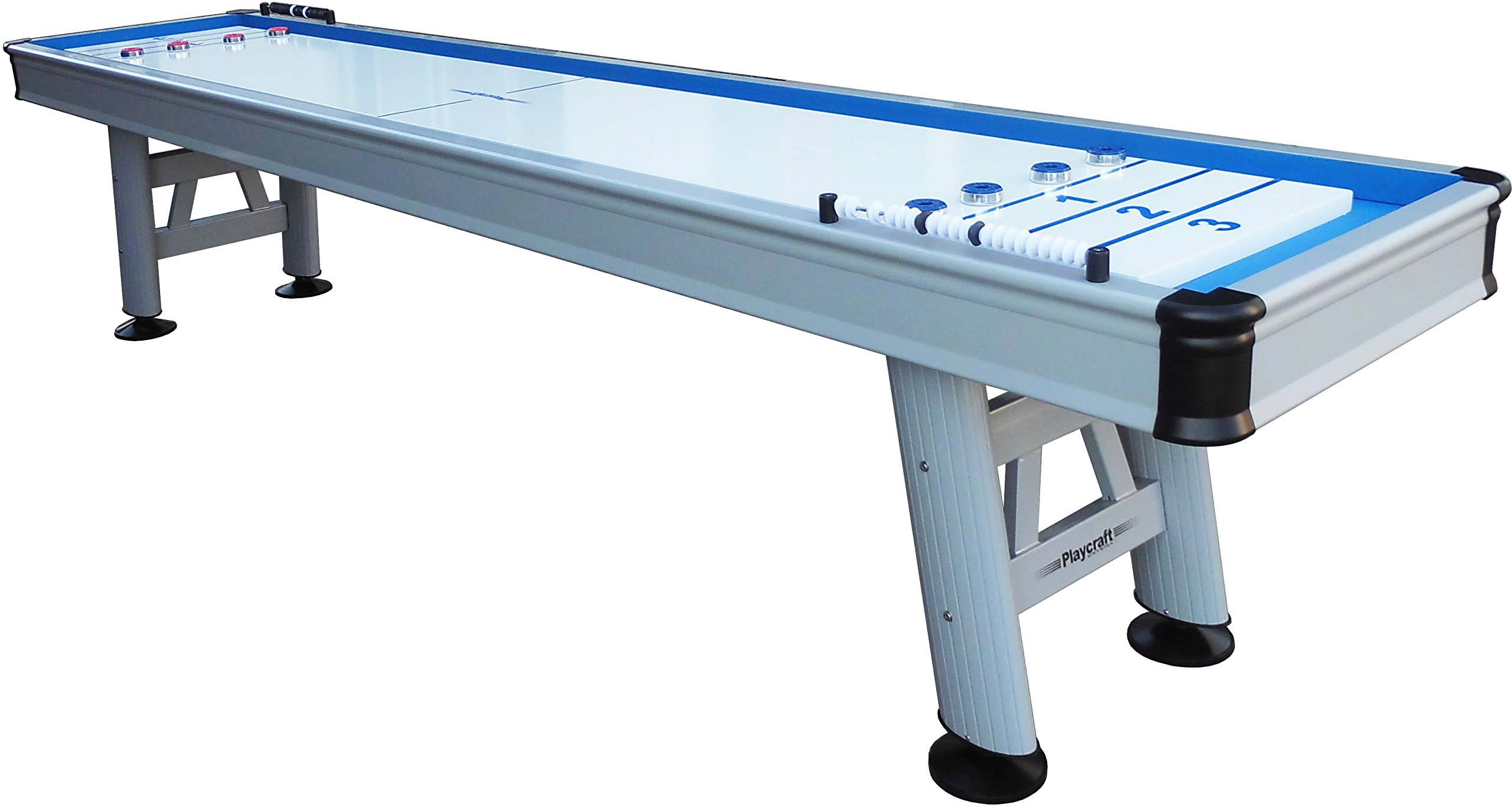Playcraft Extera 12' Outdoor Shuffleboard Table with 20'' Playfield