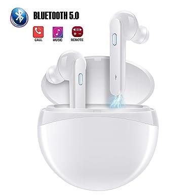 eb2a07e0a42 Bluetooth 5.0 Earphones, Cuker True Wireless In-Ear Earbuds Blutooth TWS  headphones Waterproof Mini