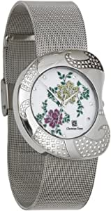 Christian Geen Analog Watch For Women - Stainless Steel, Silver - 4603Lls-Wh