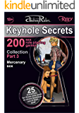 """""""Keyhole Secrets"""" collection of 200 sex role playing games. Part 3 (scenarios 51-75): Illustrated collection of SEX FANTASIES and SEX ROLE PLAYING GAME scenarios"""