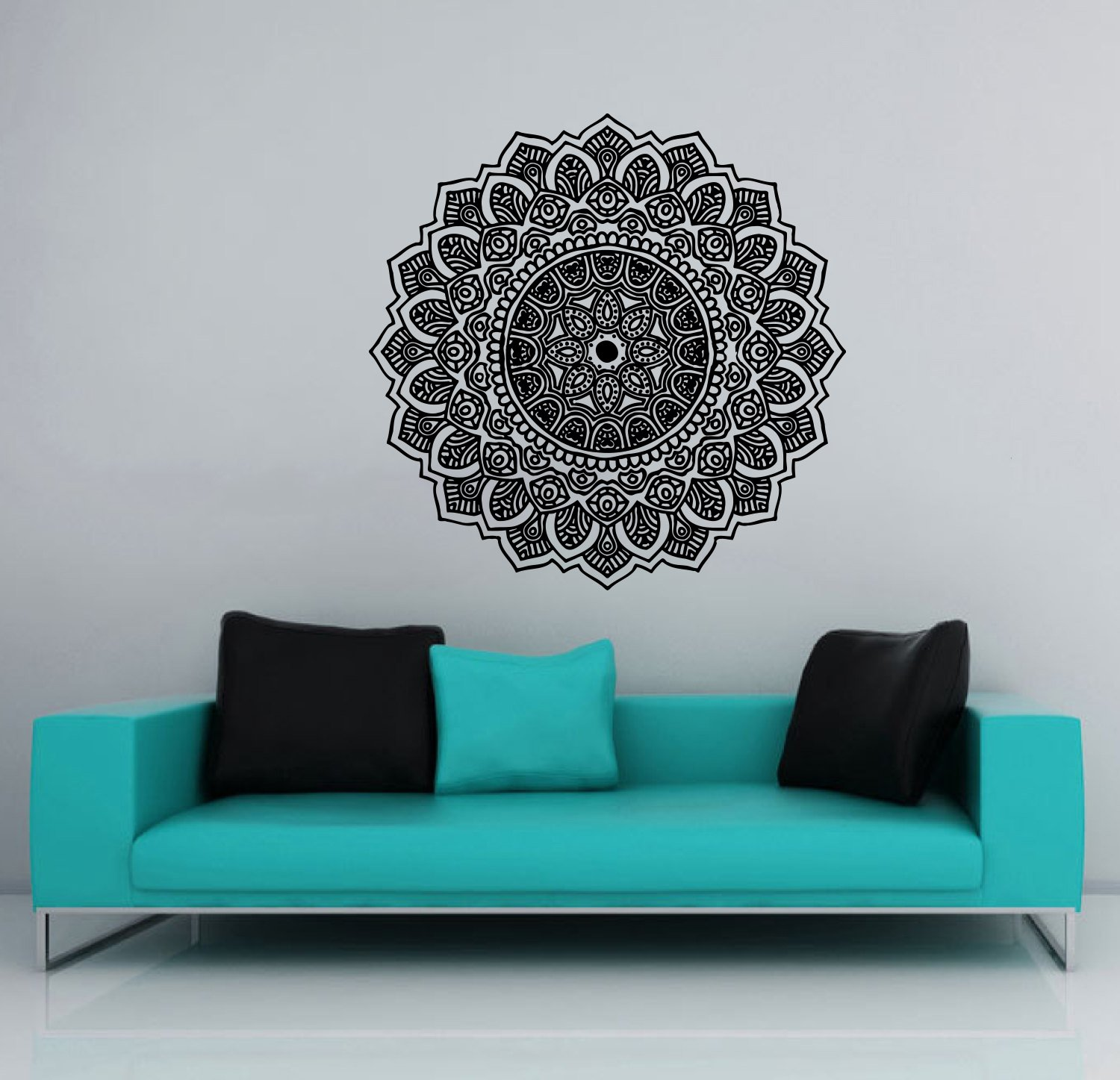 Tile wall decals vinyl stickers moroccan style home decor for ...