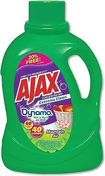 Ajax Extreme Clean detergente para lavandería, aroma de aire de ...