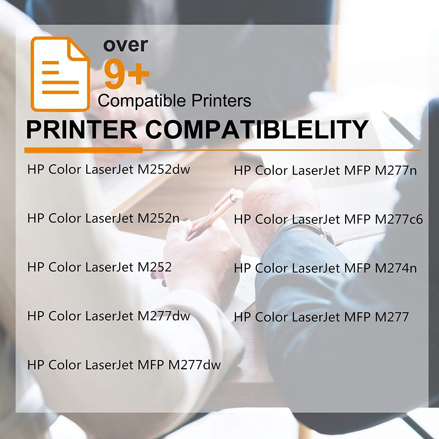 Black,2-Pack GREENCYCLE 2,800 Pages High Yield Toner Cartridge Replacement Compatible for HP 201X 201A CF400X CF400A Used for Color Laserjet M252 M252n M252dw M277 MFP M277dw MFP M277c6