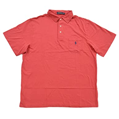 96acdcf9 Polo Ralph Lauren Mens Big and Tall Pocket Jersey Polo Shirt at Amazon Men's  Clothing store: