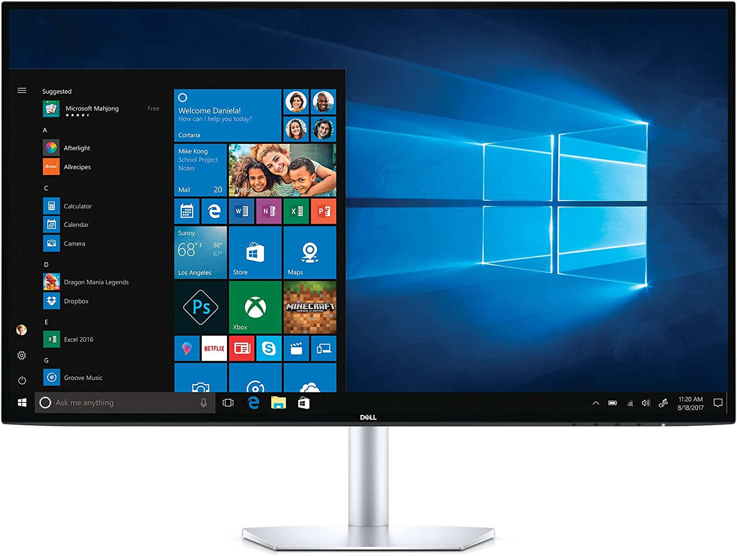"Dell S Series S2719DM 27"" Ultrathin Monitor"