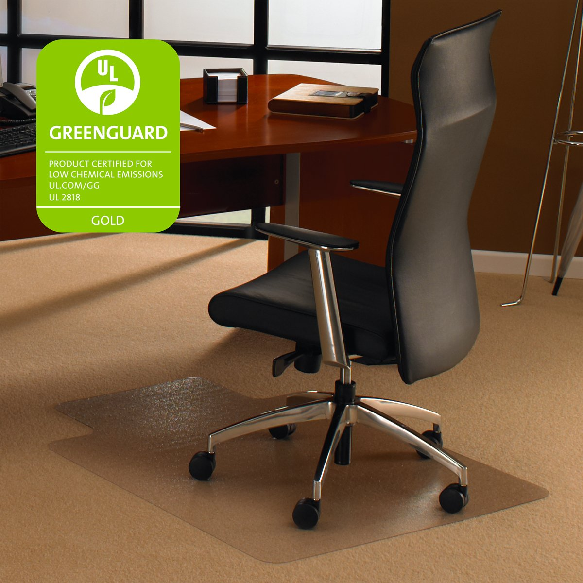 Amazon.com : Cleartex Ultimat Chair Mat, Clear Polycarbonate, For ...