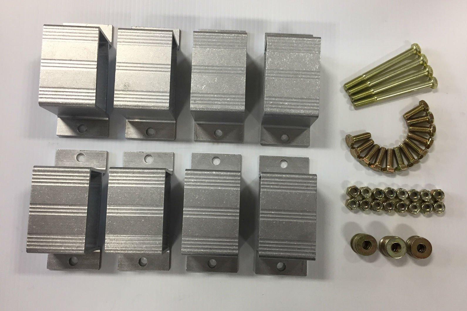 Triton 08535 ATV Trailer Stake Pocket Kit with 8 Pockets by Triton