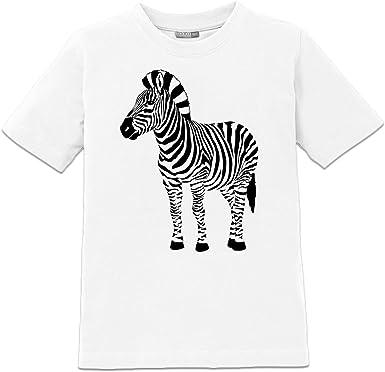 Camiseta de niño Zebra by Shirtcity: Amazon.es: Ropa y accesorios