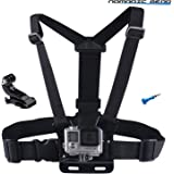 Nomadic Gear Adjustable Chest Mount Harness for Gopro Hero5 Hero4 Hero3+ Hero3 Hero2 Hero Camera