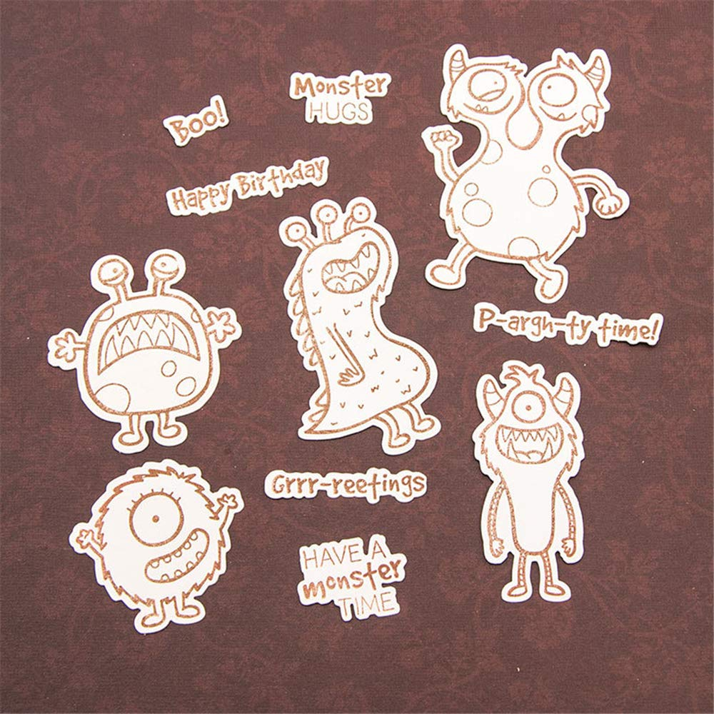 Noel Merry Christmas Happy New Year Enjoy with Love Wishes Words Clear Rubber Stamps for Card Making and Scrapbooking Birthday Christmas Silicone Stamps T1603