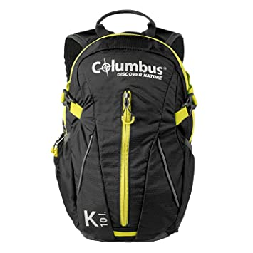 Columbus K 10 Mochila, Unisex Adulto, Black, Talla Única: Amazon.es: Deportes y aire libre