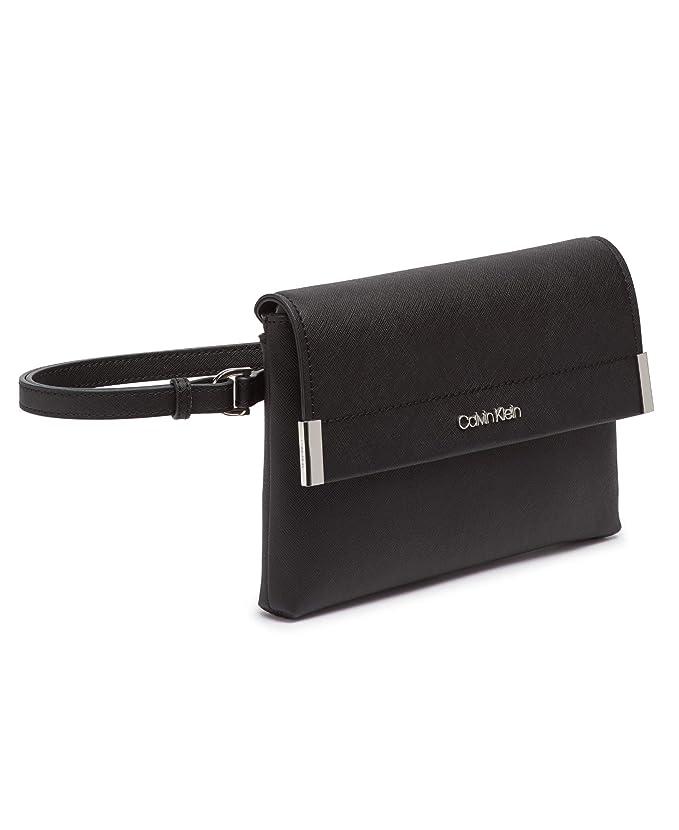Amazon.com: Calvin Klein Raelynn Saffiano - Bolsa para ...