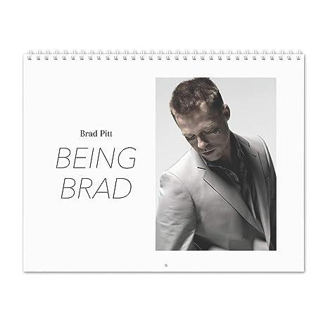 Amazon Com Brad Pitt Being Brad 2019 Wall Calendar Office Products