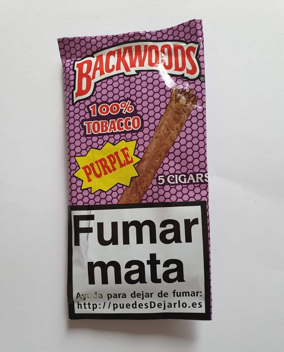 Blunt BACKWOODS - Pack 5 Blunts (Purple)