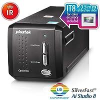 Plustek OpticFilm 8200i AI - 35mm Film & Slides Scanner. IT 8 Calibration Target + SilverFast Ai Studio 8.8, 7200 dpi…