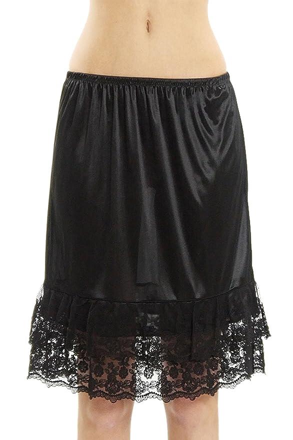 Amazon.com: Extensor de media falda de encaje: Clothing