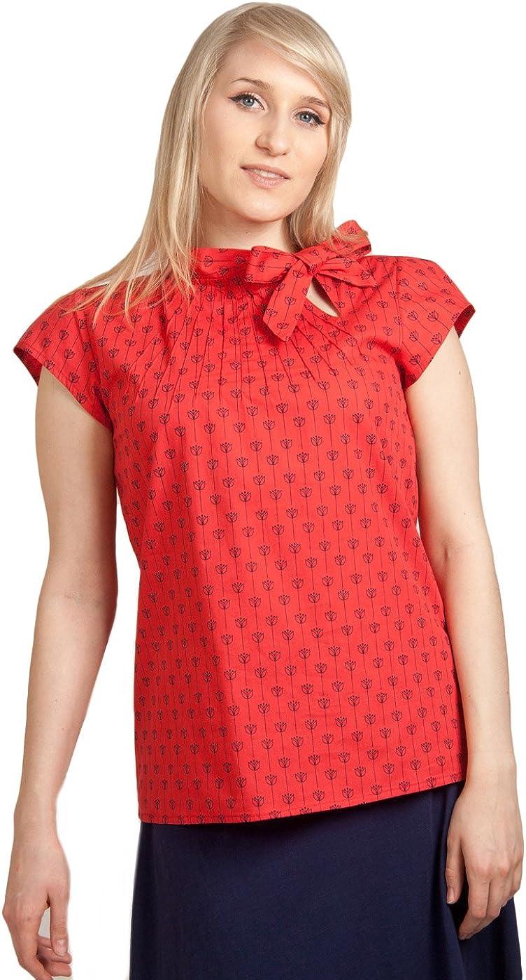 Circus - Camisas - Animal Print - para mujer Rojo Red Tulip 36: Amazon.es: Ropa y accesorios