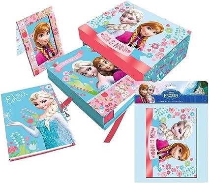 Caja regalo Frozen Disney: Amazon.es: Oficina y papelería