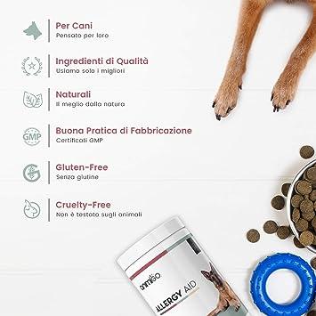 Animigo Ayuda para La Alergia En Perros - 60 Cápsulas Blandas: Amazon.es: Productos para mascotas