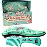 Detangling Brush Set by Bella and Bear - the Best Detangler Brush no more tangles, no more tears.