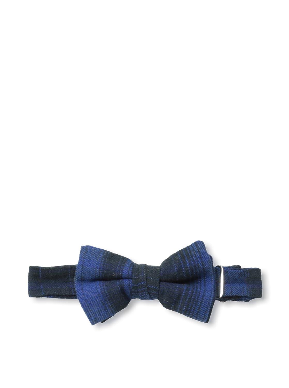 Rival Crews Boys Benny Self Loop Bowtie One Size Blue Vintage Plaid