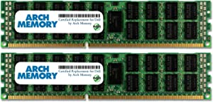 Arch Memory Replacement for Dell SNPNN876C/4G A2626076 8 GB Kit (2 x 4 GB) 240-Pin DDR3L RDIMM Server RAM for Precision T7500