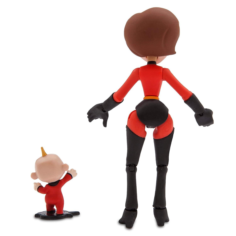 Incredible and Jack-Jack Action Figure Set 6101047622530000 Pixar Mrs