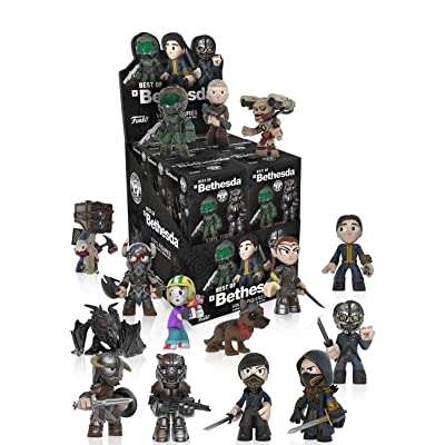 Funko Mystery Mini: Bethesda All Stars One Mystery Action Figure: Funko Mystery Minis:: Toys & Games