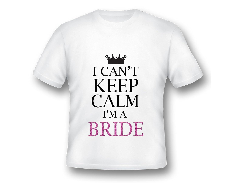 Amazon Keep Calm Im A Bride Custom Tee Shirt Custom Bridal