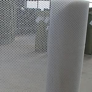Red Protectora Red de Plástico, Hogar Seguro Al Aire Libre Escalera Balcón Niños Mascota Gato Perro Red de Protección Contra Caídas (Especificaciones: Espaciado de Cuadrícula 0.8CM) (color: Blanco): Amazon.es: Bricolaje y herramientas
