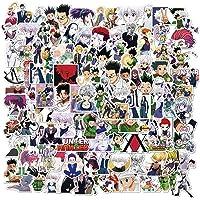 XUNMOWEI 100 stks/set Leuke Hunter X Hunter Auto Stickers, Anime Bumper Stickers voor Laptop, Auto, Bagage, Skateboard…