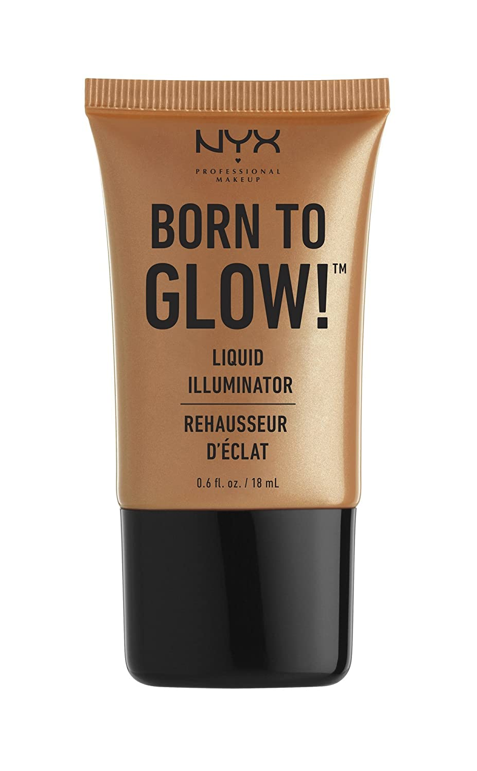 NYX Professional Makeup Born to Glow Liquid Illuminator, Gleam, 0.6 Ounce NYX Cosmetics 0800897818449