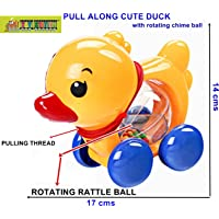 TOY-STATION Pull Along Toy (Duck)