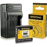 Novità - 4in1 Caricabatteria + Batteria come Olympus Li-50b   Pentax D-Li92 per Olympus mju 1010   1020   1030 SW   9000   9010   Tough-6000   Tough-6010   Tough-8000   Tough-8010 etc... Pentax Optio X70   I-10   RZ10   RZ18   WG1 GPS   WG2 GPS   WG3 GPS   WG10
