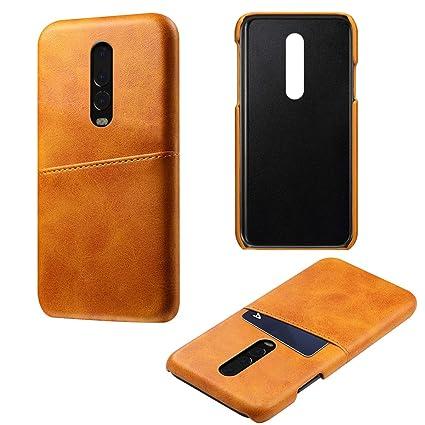 quality design 643dd 37ede Amazon.com: Torubia OnePlus 6T Case, OnePlus 6T Leather Wallet Case ...