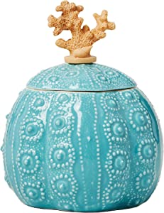 SKL Home by Saturday Knight Ltd. South Seas Cotton Jar, Turquoise
