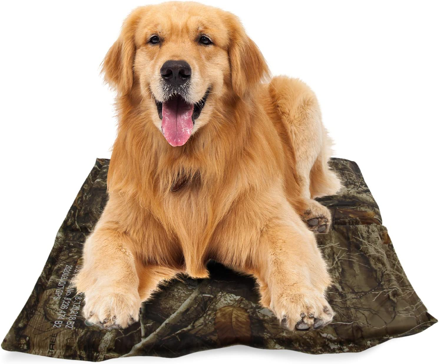 CHILLZ Cooling Pad for Dogs – Pet Cooling Mat Featuring Realtree Edge Camo Pattern – Dog Cooling Mat