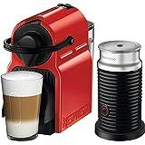 Nespresso® Inissia Espresso Machine by Breville with Aeroccino, Ruby Red