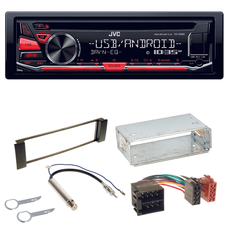 Pioneer Auto Radio für VW Lupo Bluetooth MP3 USB 2DIN PKW KFZ Einbauzubehör