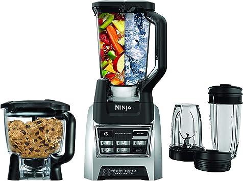 Amazon.com: Nutri Ninja Blender Kitchen System, Auto-iQ 1200 ...