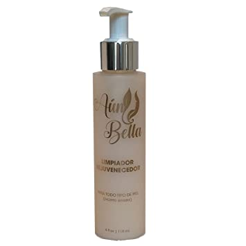 Aun Bella Antiaging Cleanser w/Antioxidants and Hyaluronic,Acid - Limpiador Rejuvenecedor con potentes