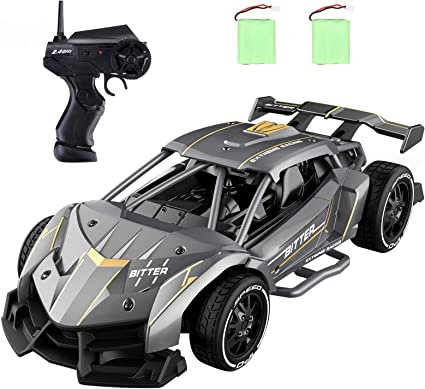 Amazon Com Rc Cars For Boys Age 8 12 Eachine Ec05 Rc Drift Sports Racing Cars Alloy 15 Km H High Speed 40 Mins Electric Vehicle Rc Drag Cars Super Cars Large Toys Gift For