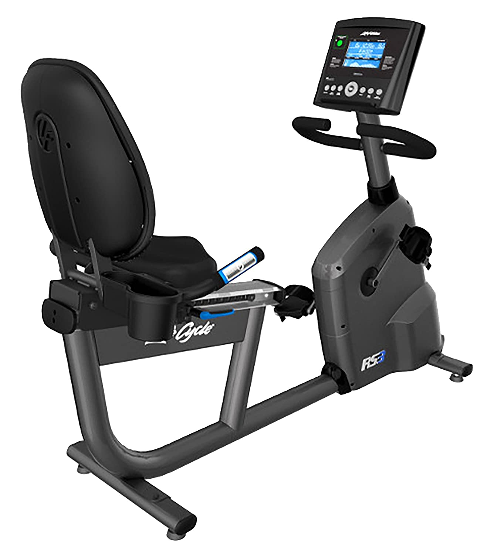 "Life Fitness® Liegeergometer ""RS3 , Go"