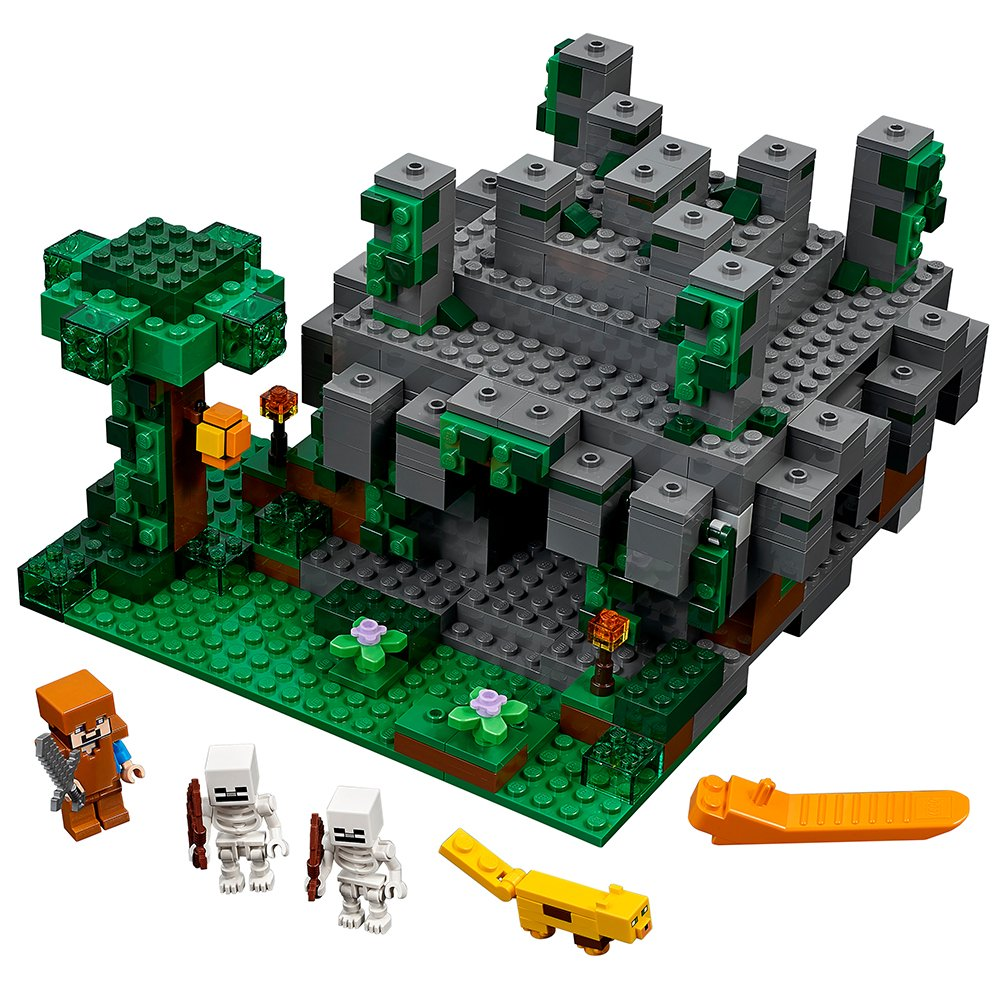 LEGO Minecraft The Jungle Temple 21132   B01MXEMOK7