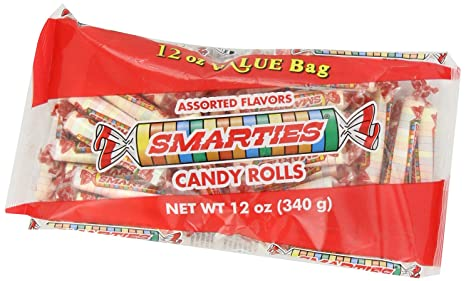 Amazon.com : Smarties Candy Rolls, 12 Ounce (Pack of 24) : Hard Candy : Grocery & Gourmet Food