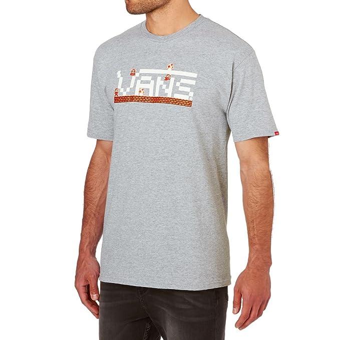 maglietta vans uomo grigia