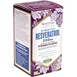 Reserveage - Resveratrol with Pterostilbene 250mg, Cellular Age-Defying Formula, 60 capsule